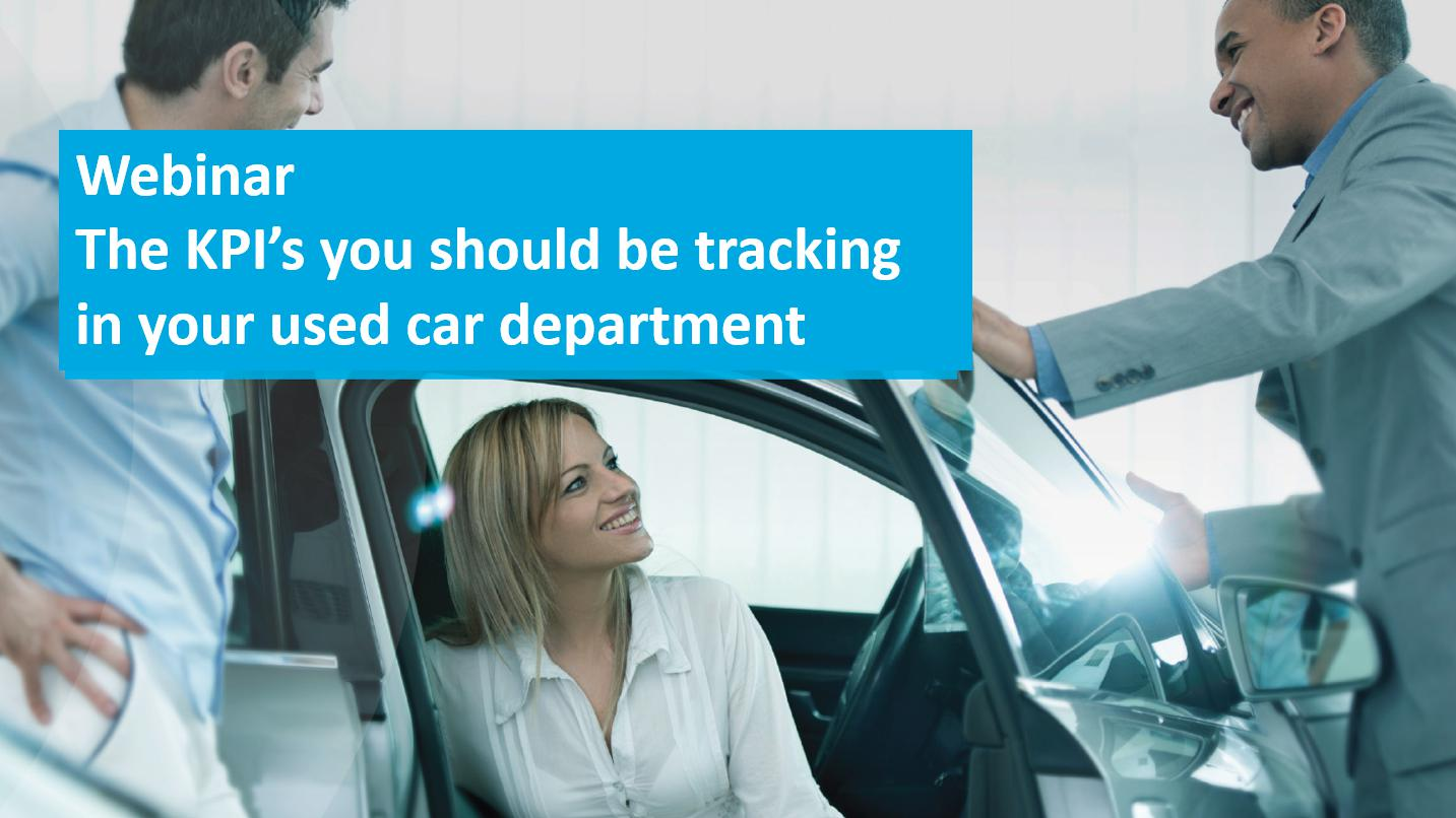 The KPI's you should be tracking in your used vehicle operations